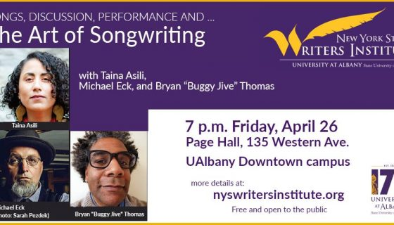 The Art of Songwriting event