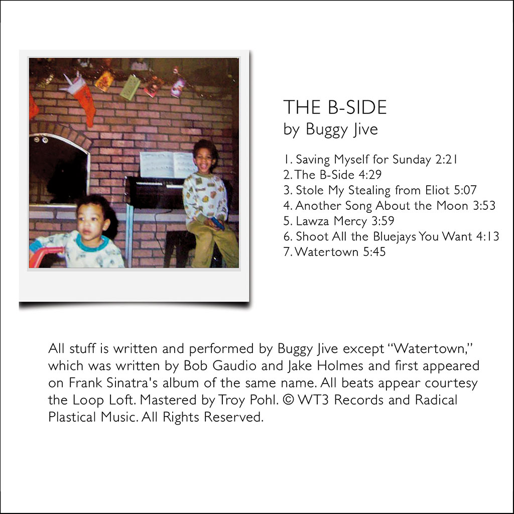 The B-Side back cover